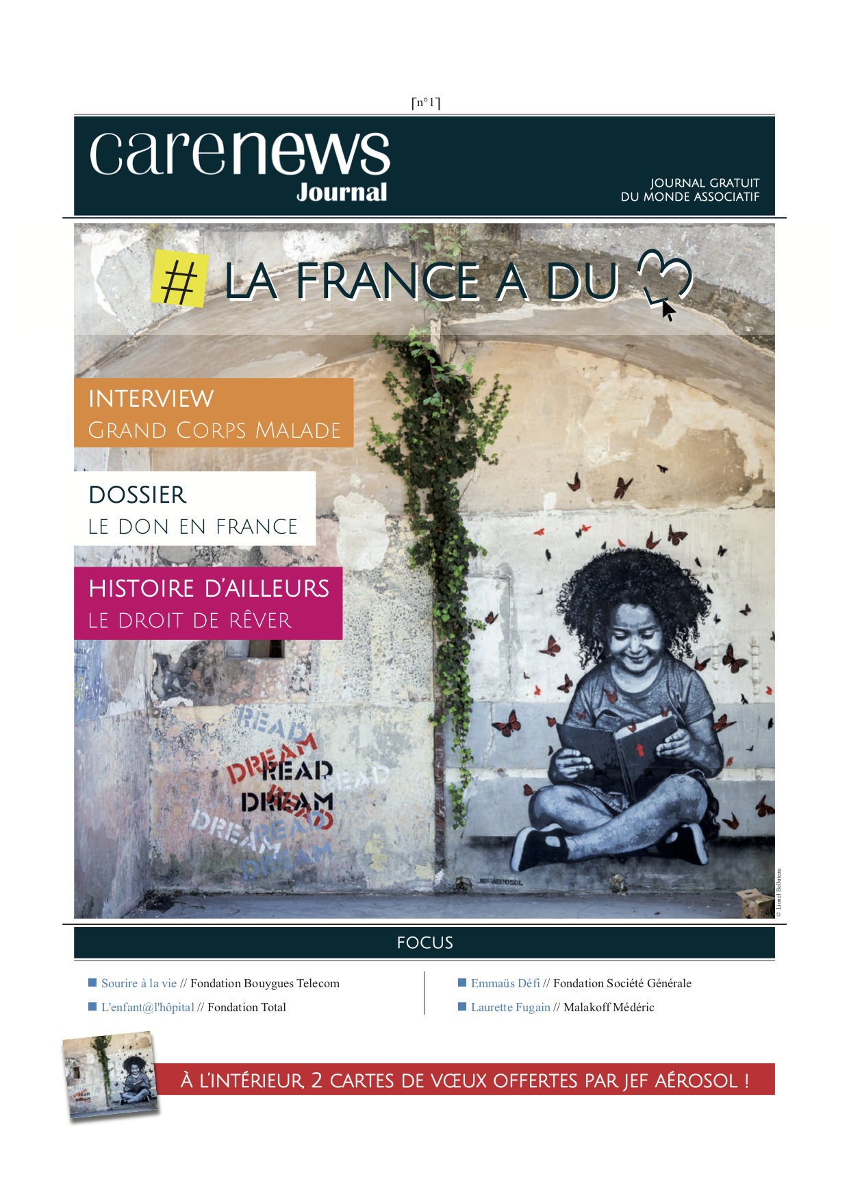 Carenews Journal n°1 - La France a du coeur