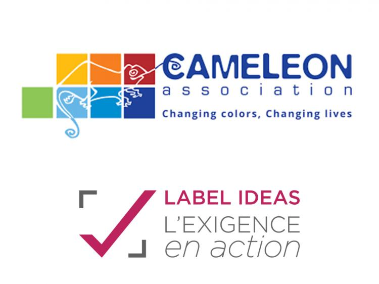 L'Association CAMELEON obtient le LABEL IDEAS