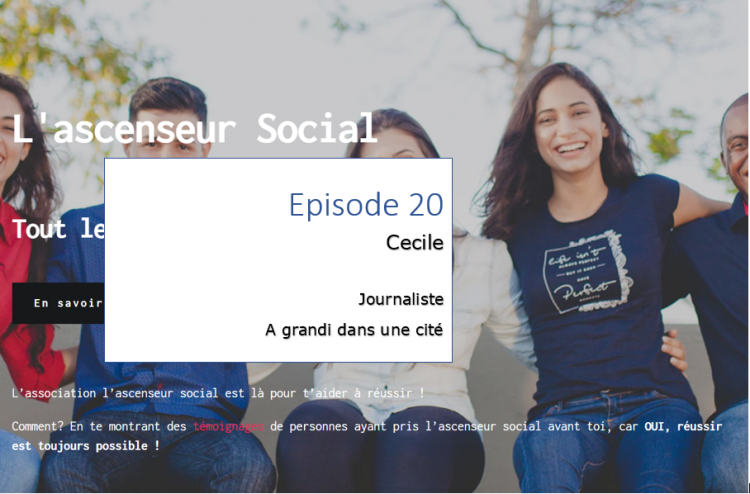 podcast ascenseur social