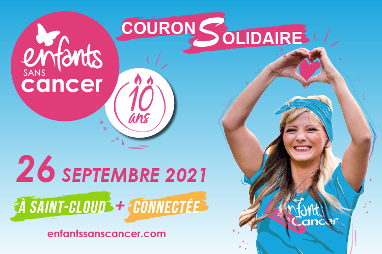 Course Enfants sans Cancer 10e édition - 26 septembre 2021