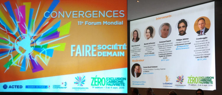 Evaluation partenariale, point d'étape au Forum Convergences