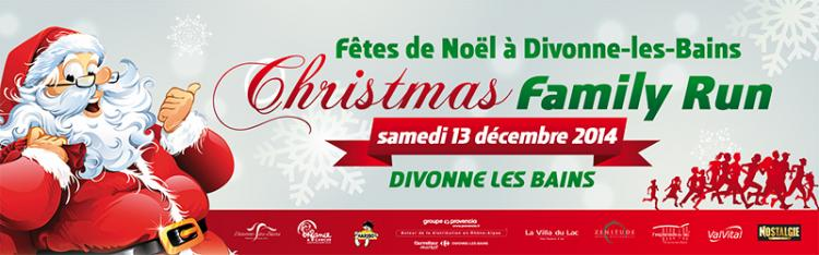 13 décembre 2014: Christmas Family Run à Divonne !