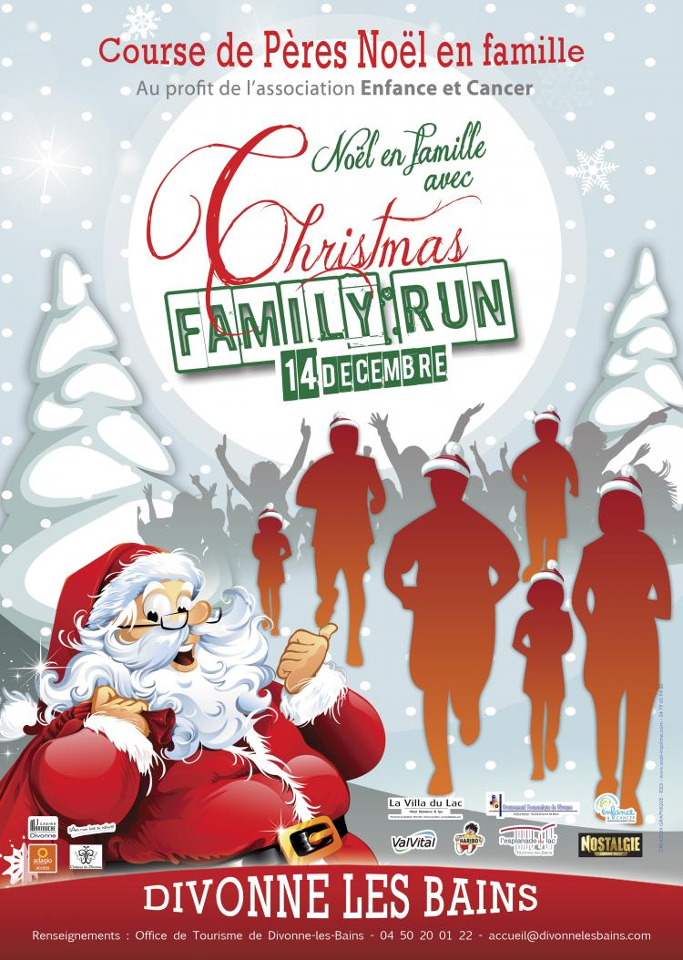 14 décembre 2013: Christmas Family Run