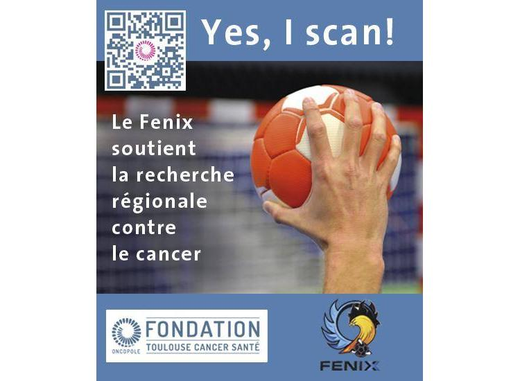 Les sportifs toulousains supporters de la lutte contre le cancer : Yes I scan!