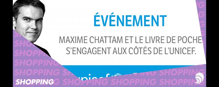 Shopping Maxime Chattam Et Le Livre De Poche S Engagent Aux