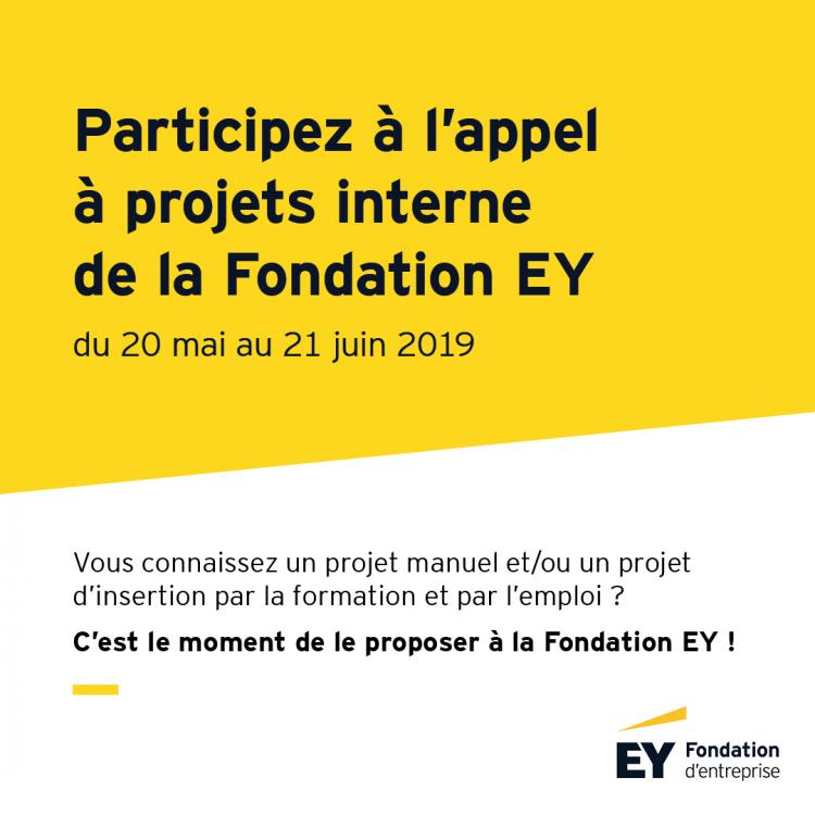 La Fondation EY lance son nouvel appel à projets interne 2019