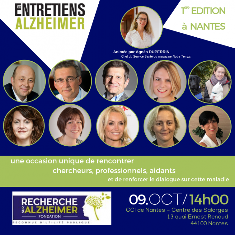 SAVE THE DATE : Entretiens Alzheimer Nantes ◄