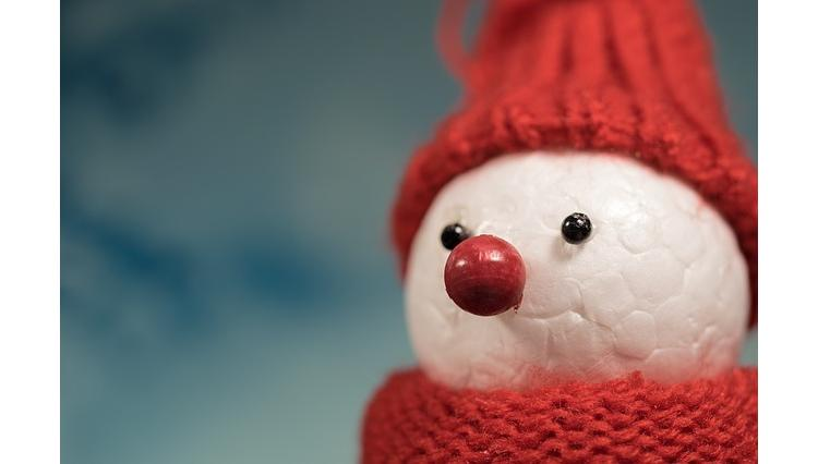 Soutien National Autistic Society 5 Noël Bonhomme de neige Charity Noël Cartes