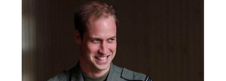 Le Prince William, pilote pour la bonne cause!