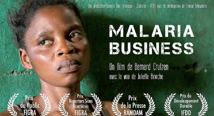 Malaria business sur France 24