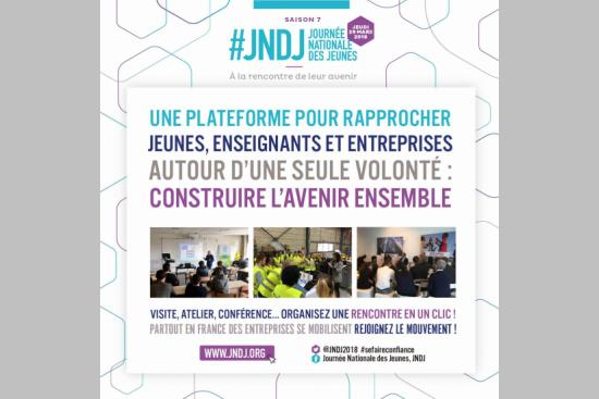 INSCRIPTION A LA JOURNEE NATIONALE DES JEUNES