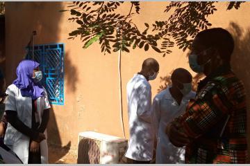 Niger - Un dispositif de prise en charge des cas suspects de COVID-19 au Centre Hospitalier Régional de Niamey