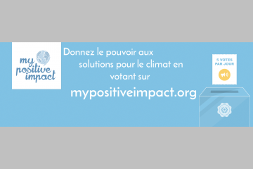 Dons Solidaires candidate pour My Positive Impact